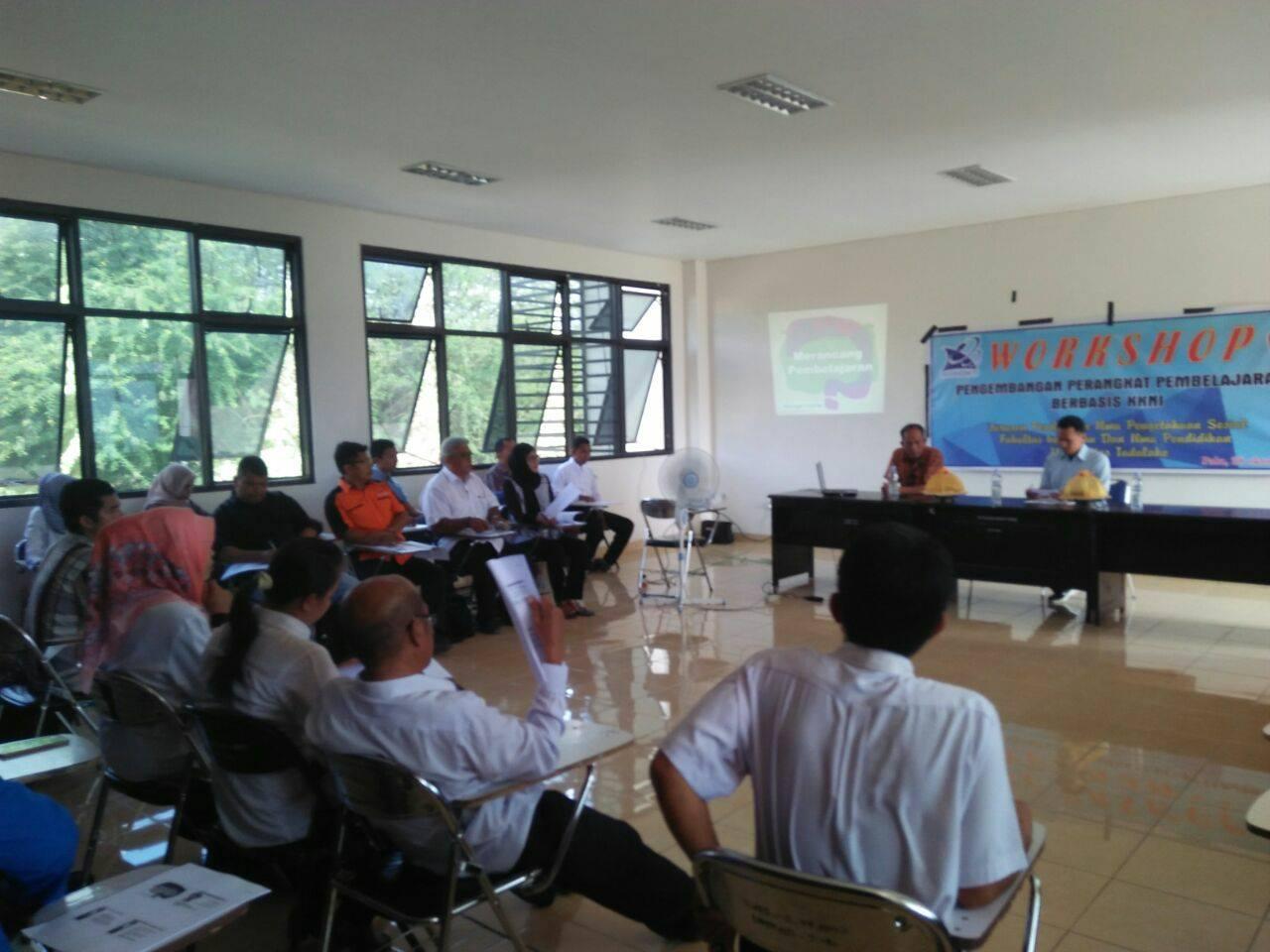 .Workshop Pengembangan Perangkat Pembelajaran Berbasis KKNI Jurusan Pendidikan IPS