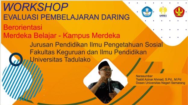 .Workshop Evaluasi Pembelajaran Daring Berorientasi Merdeka Belajar-Kampus Merdeka